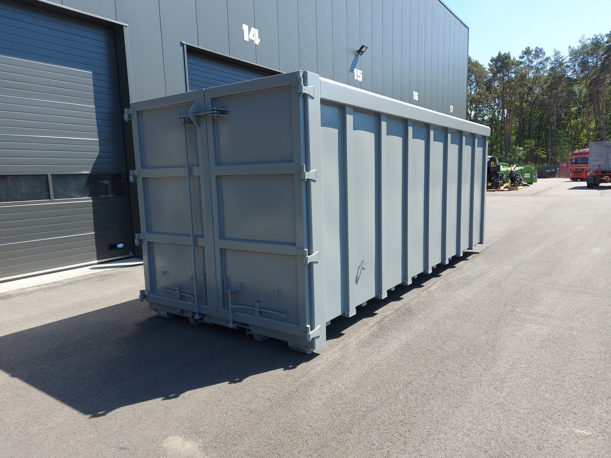 Haakarm container 36m3